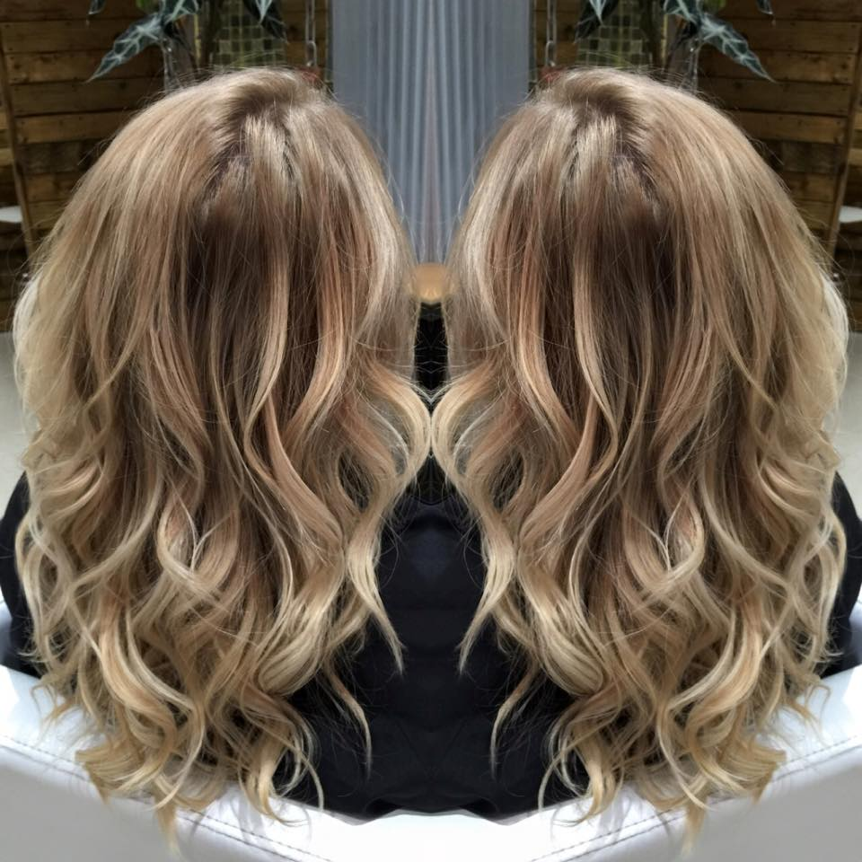 Balayage colour correction