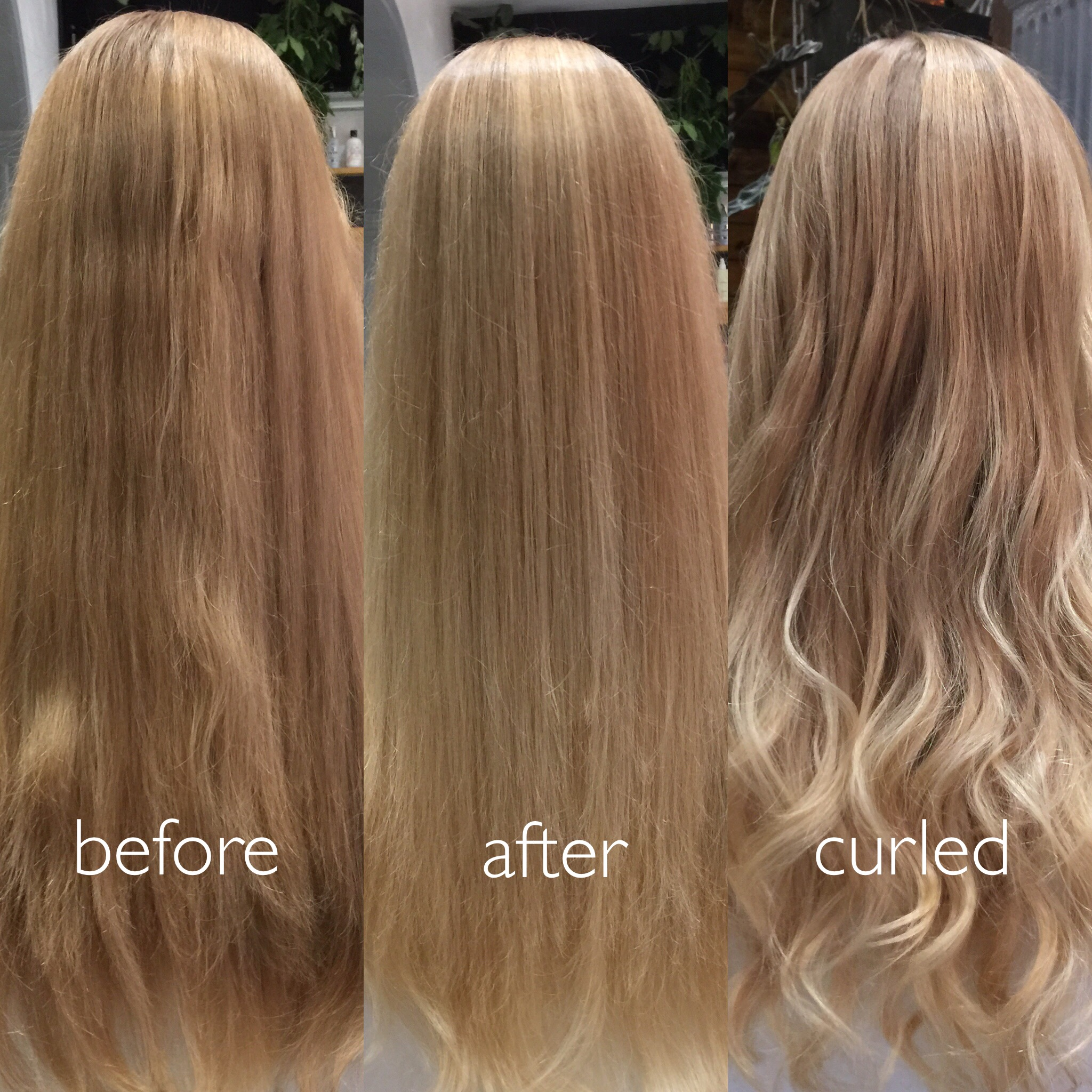Before & After Full Balayage