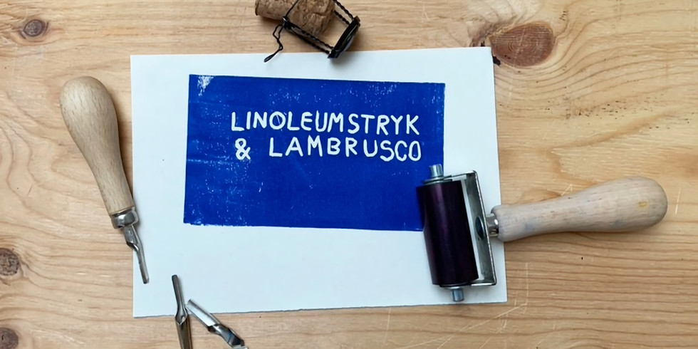 NY DATO - Linoleumstryk & Lambrusco