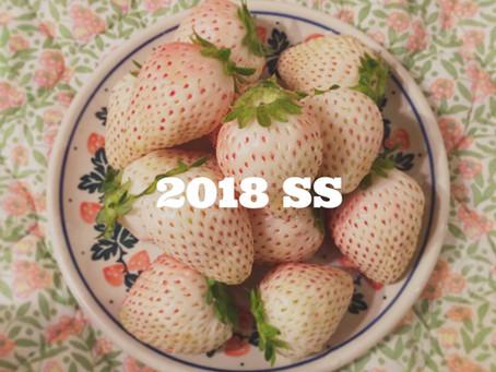 2018春夏 トレンドカラー