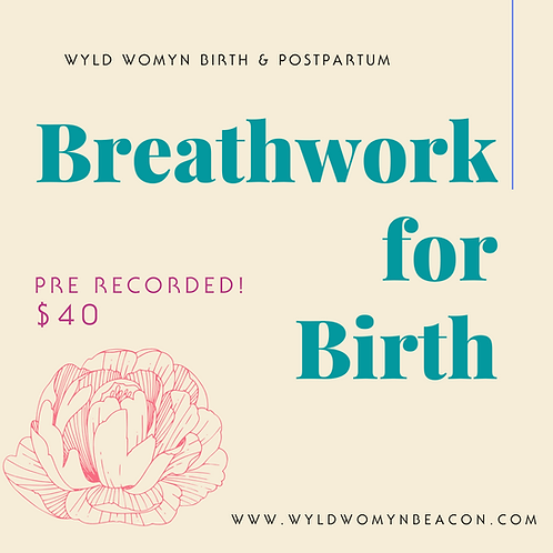 Breathwork for Birth