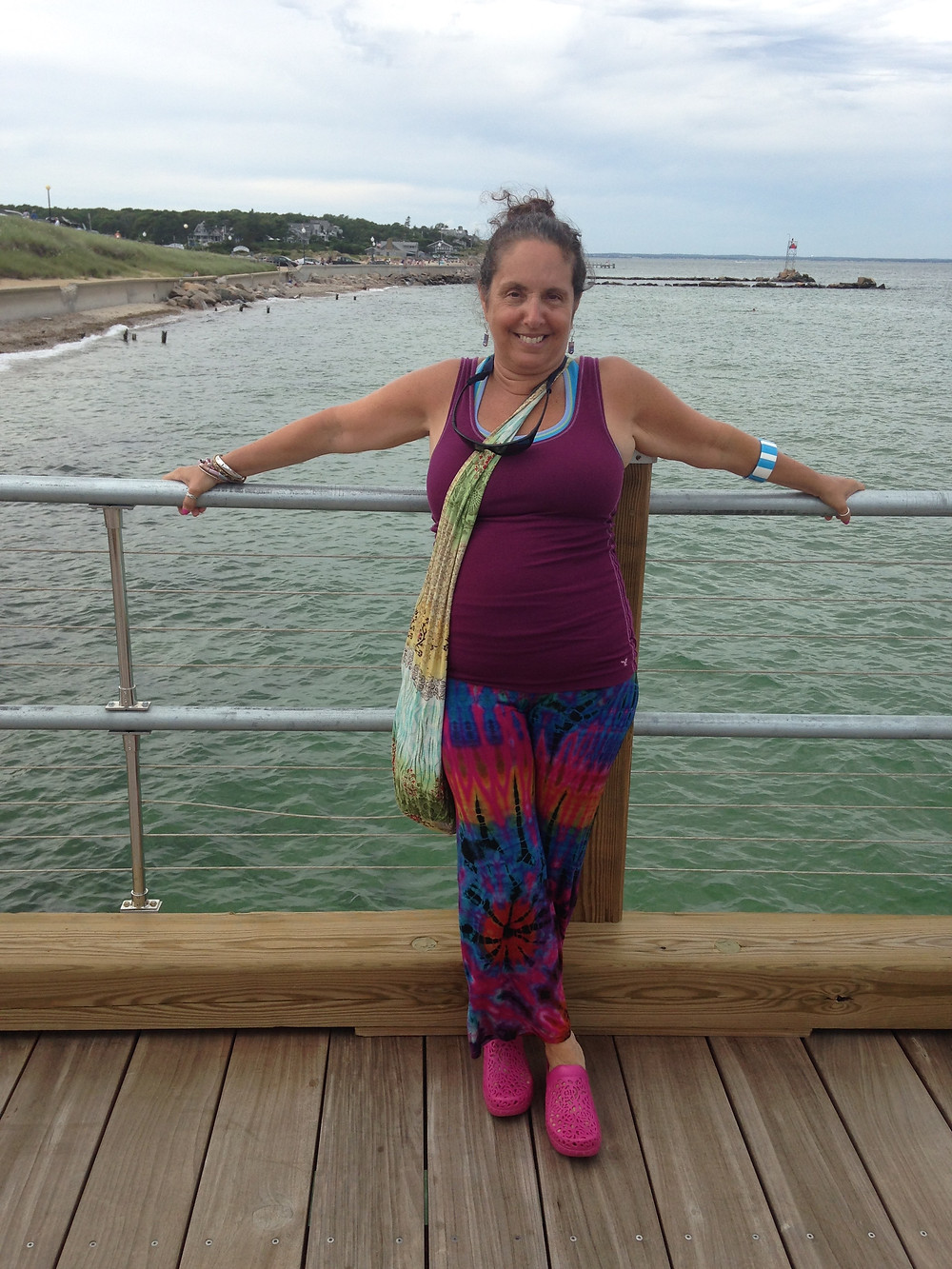 My Mother, in her vacation glory. MV 2014
