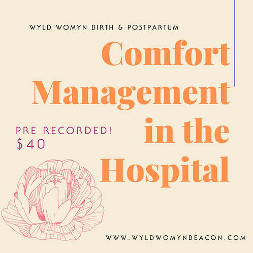 Comfort Management in the Hospital