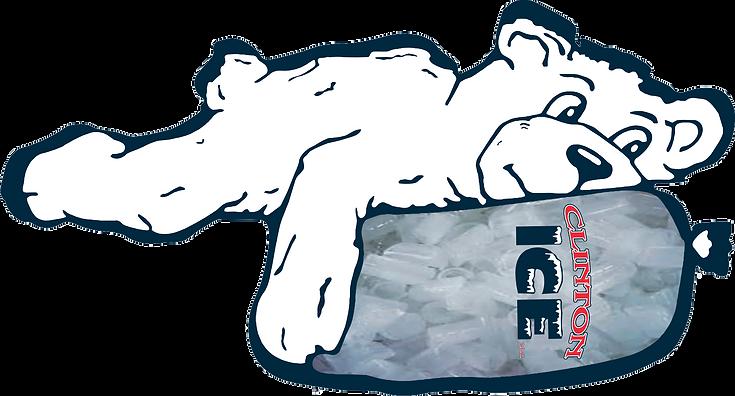 ice bear|clinton ice|bag of ice