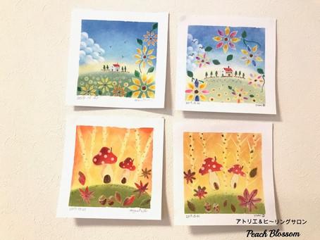 パステル和みアート1Day教室開催しました^^