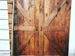 Behind Barn doors