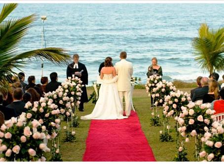 Casamento na praia: 7 pontos a considerar.