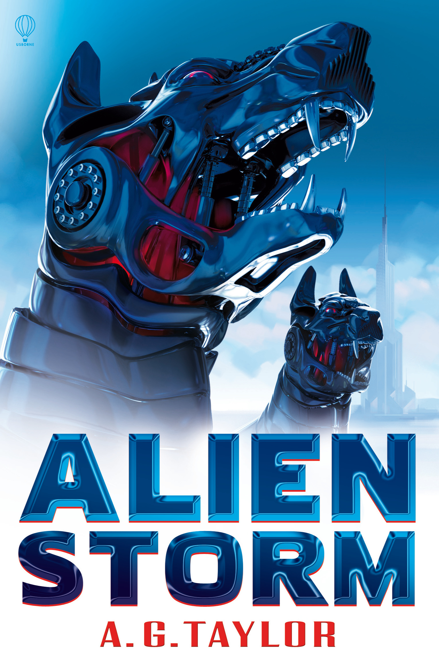 Alien Storm Front cover