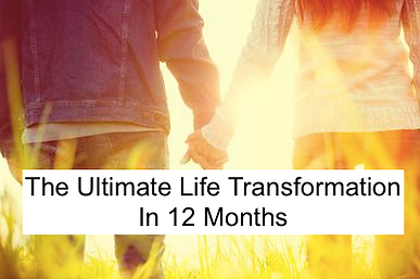 THE ULTIMATE LIFE TRANSFORMATION IN 12 M