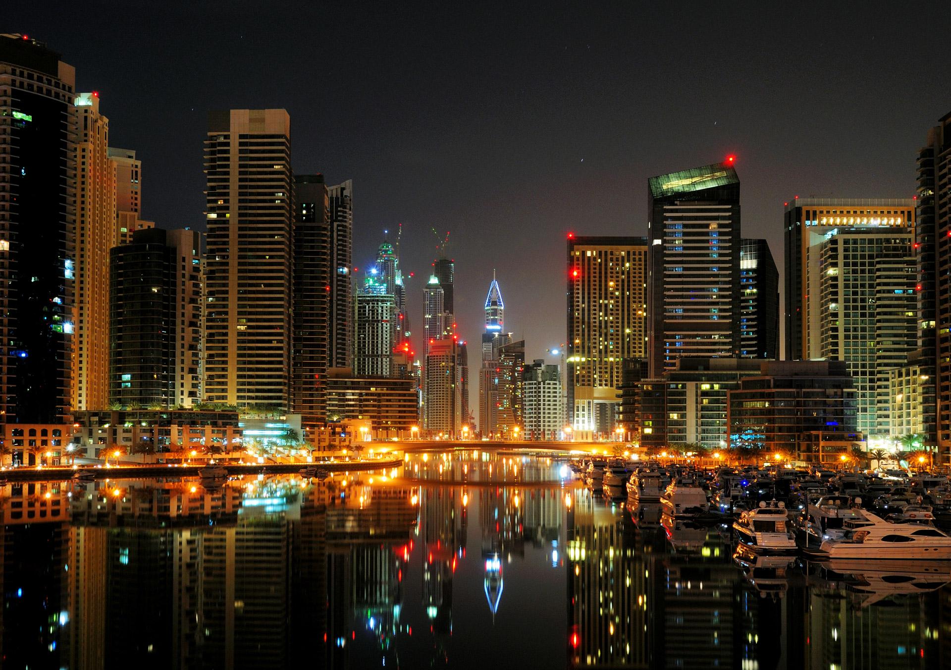 Dubai Marina - Night