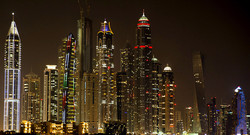 Dubai Marina - Night