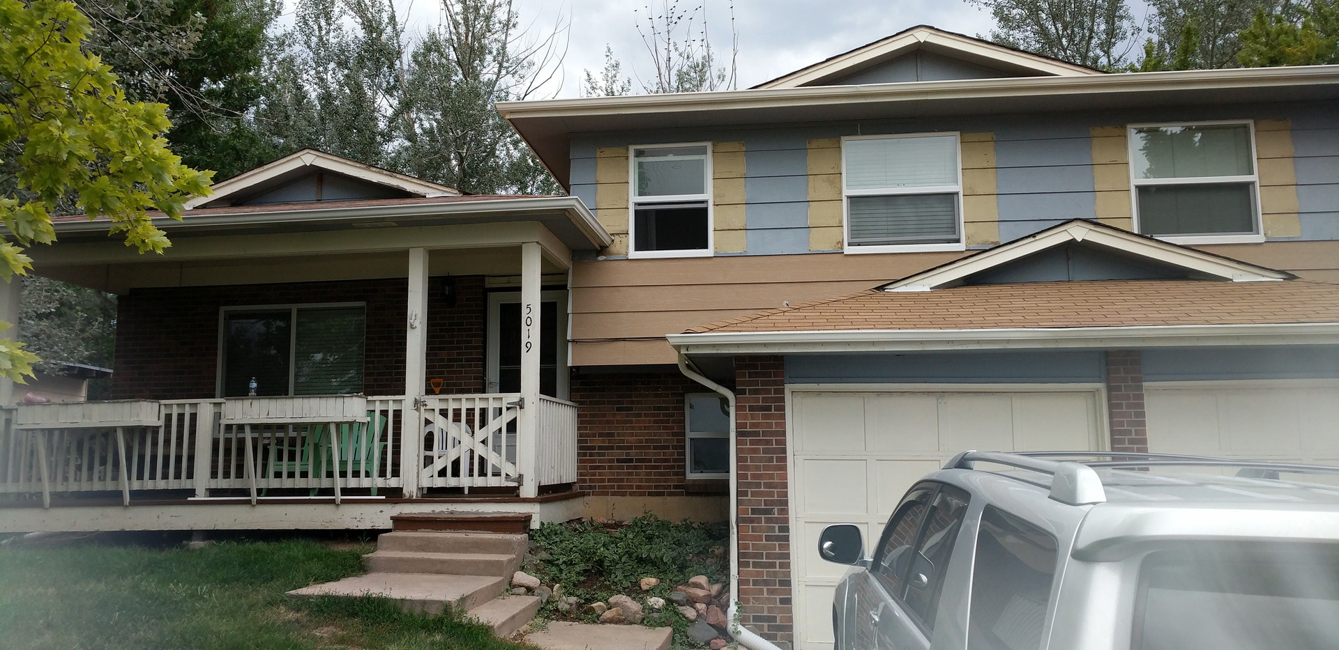 Siding repair and window install-