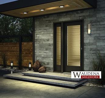 waudena door entry door
