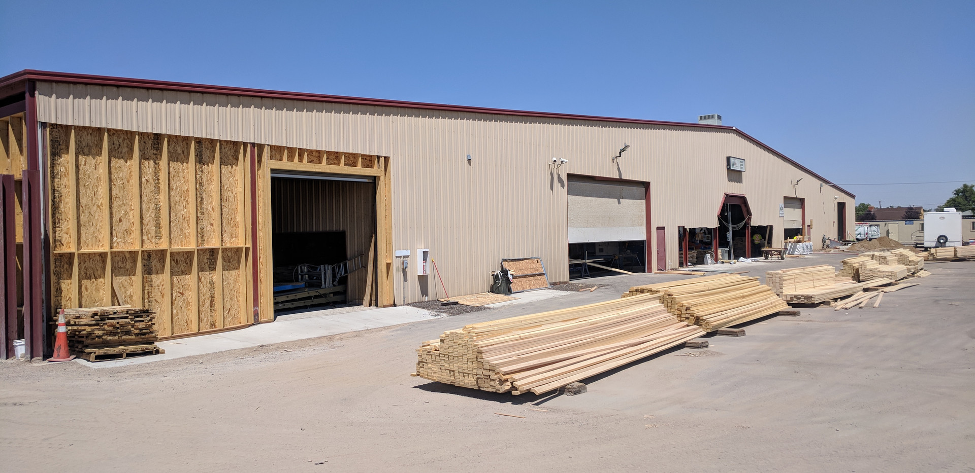 Alpine Lumber In Progress