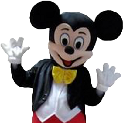Mickey Mouse Mascot
