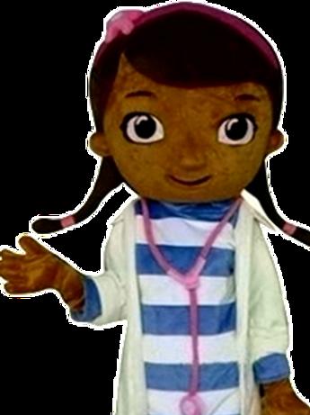 Doc McStuffins Mascot