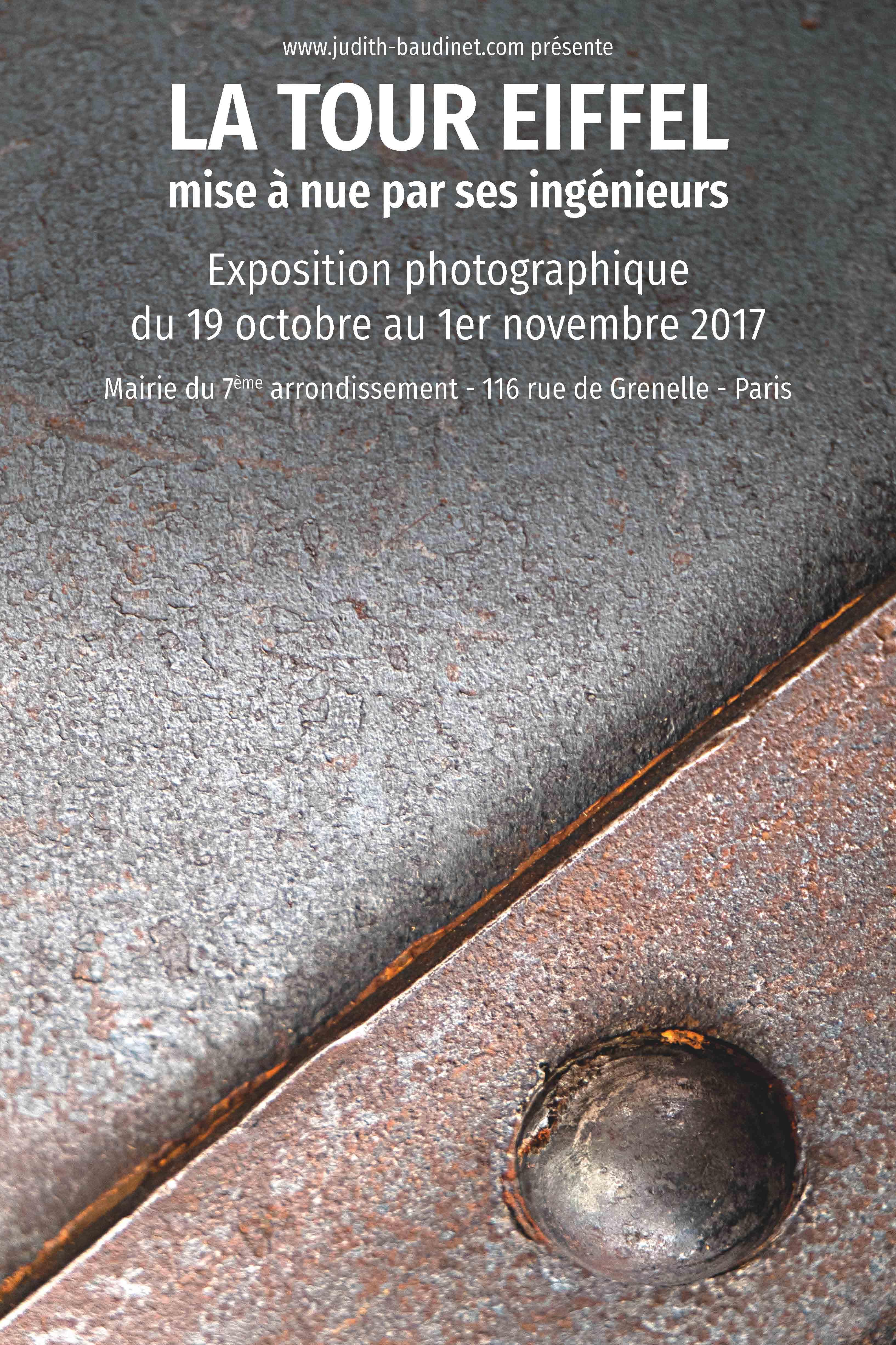 Affiche - 2 - expo Tour Eiffel 2017