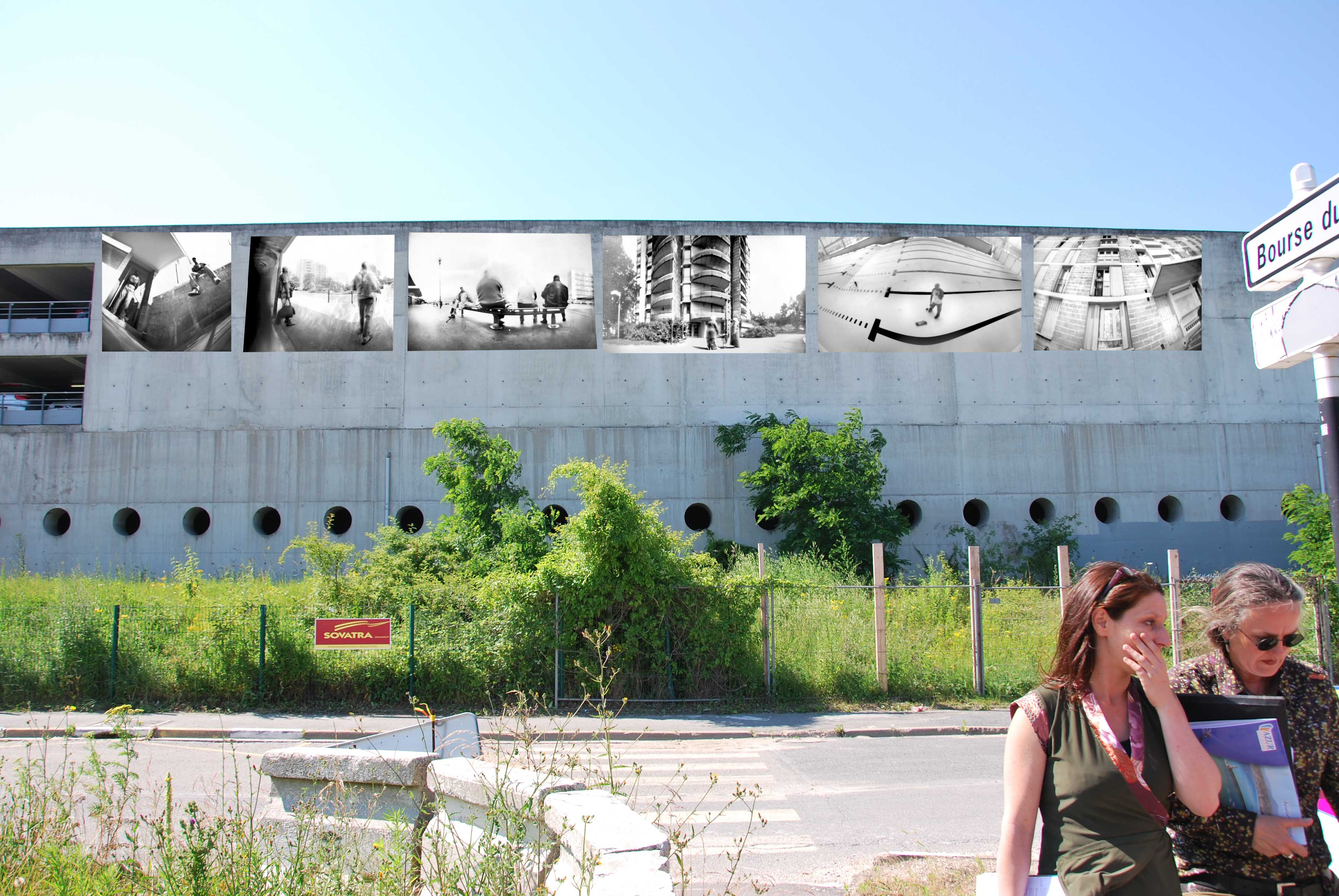 MUR-GareTGV Massy 2009