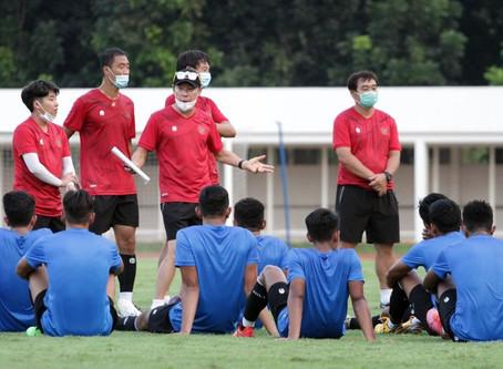 SHIN TAE - YONG TETAP MEMUJI TIMNAS U19 INDONESIA WALAU KALAH