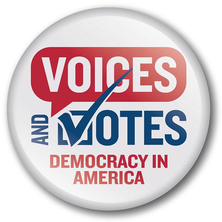 """Voices and Votes"" Democracy in America  - Smithsonian Exhibit  (1)"