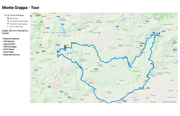 Motorradtour Trentino