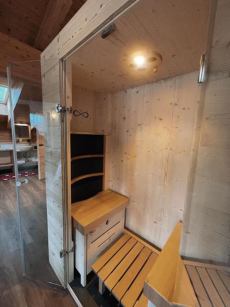 Suite Lavarone Sauna