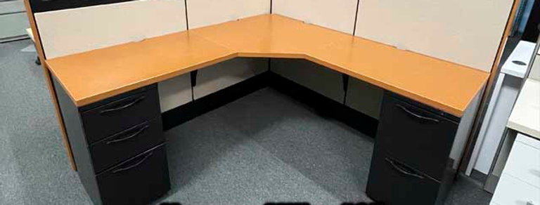 "Herman Miller ""Q"" Cubicle 6' x 6'"