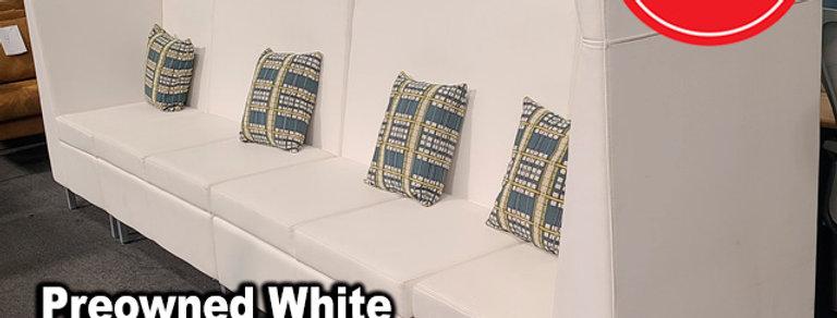 Kimball White Sofa