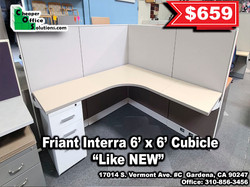 Friant Interra 6' x 6' Cubicle
