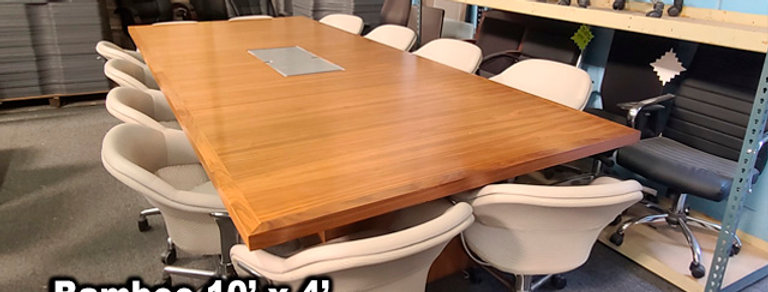 Bamboo Conference Table 10' x 4'