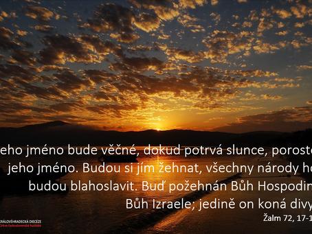 Pane, veď všechny  ty, kdo mají v rukách moc - modlitba bratra biskupa Pavla