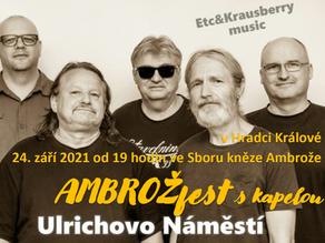 Koncert kapely Ulrichovo náměstí ETC & Krausberry revival