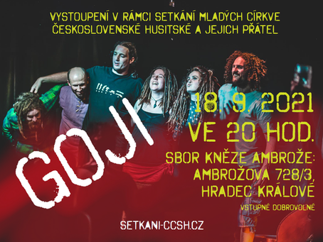 Koncert kapely GOJI