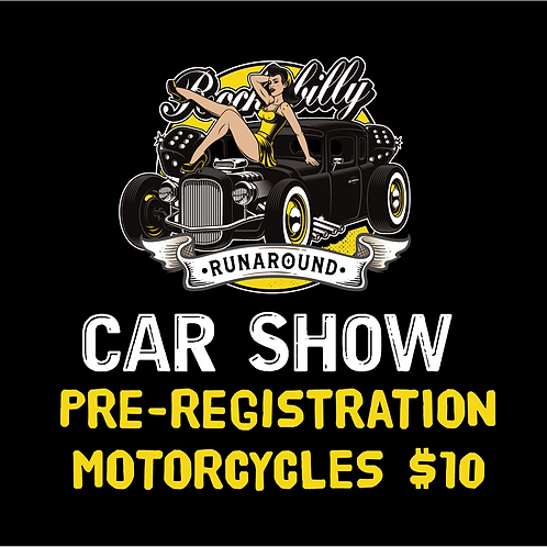Car Show Pre Registration Motorcycles