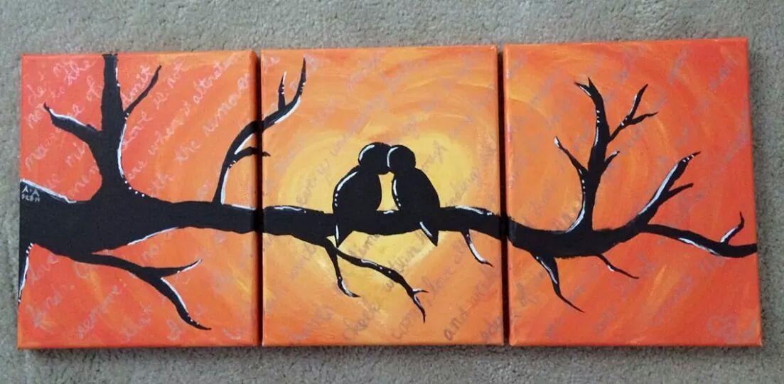 LoveBirds Painting
