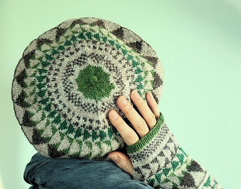 San Donato Hat and Mitts