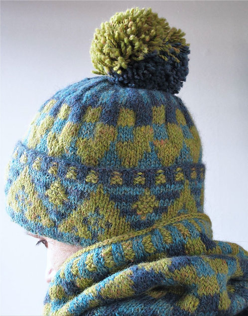 Euphorbia Hat and Cowl