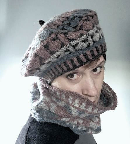 Murano Hat and Cowl