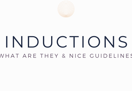What's an induction and what do the guidelines say?