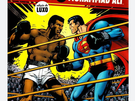 SORTEIO! HQ SUPERMAN VS MUHAMMAD ALI