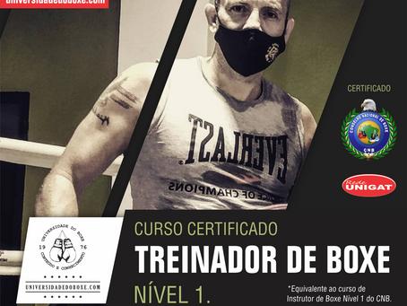 Vem ai a nossa Turma 4 do Curso de Treinador Desportivo de Boxe Nível 1.
