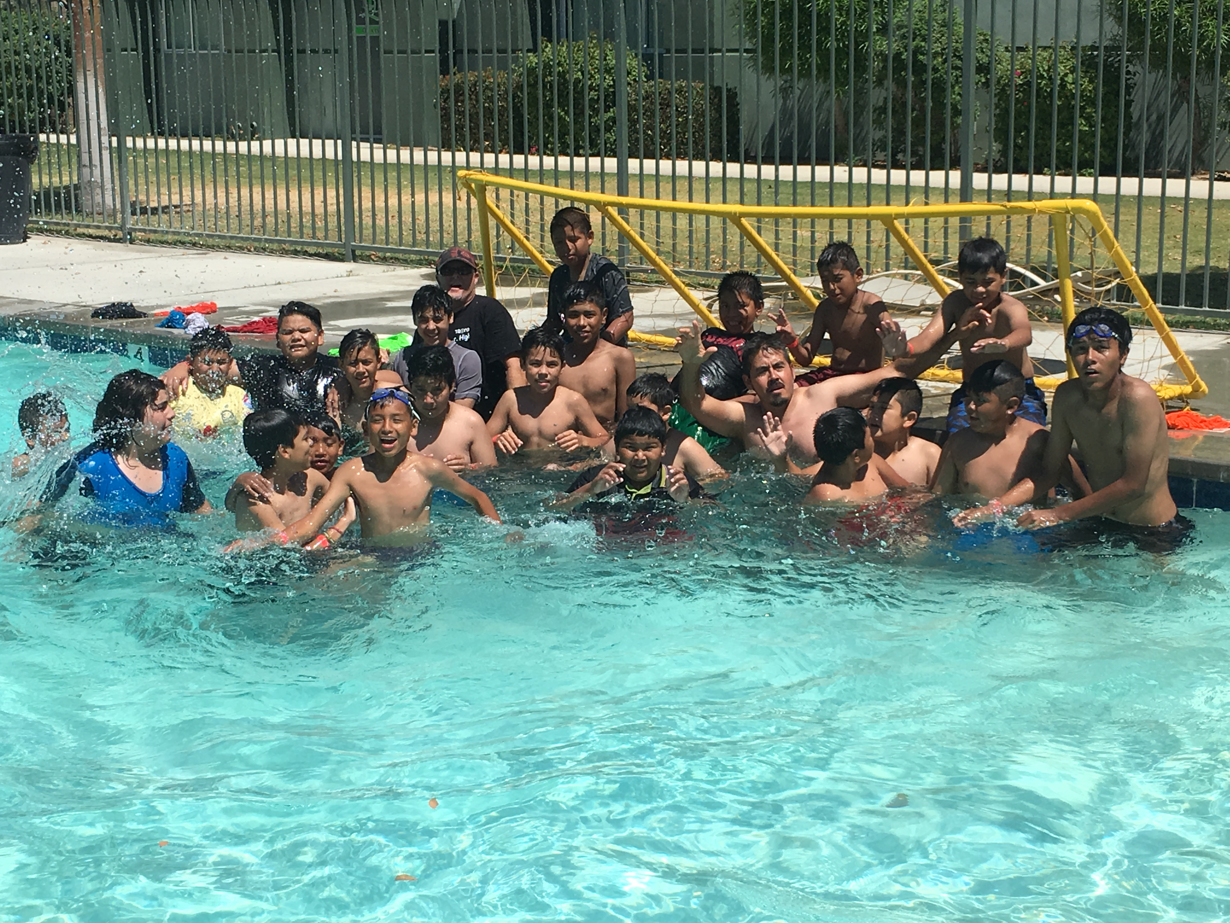 Tesoro JR high swim party-7