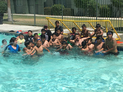 Tesoro JR high swim party-7