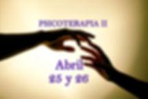4 Seminario de PSICOTERAPIA II. Abril 20