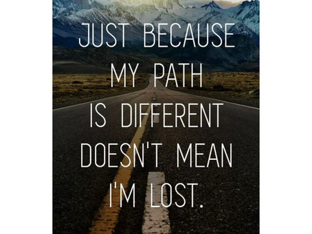 There Is Only Your Path