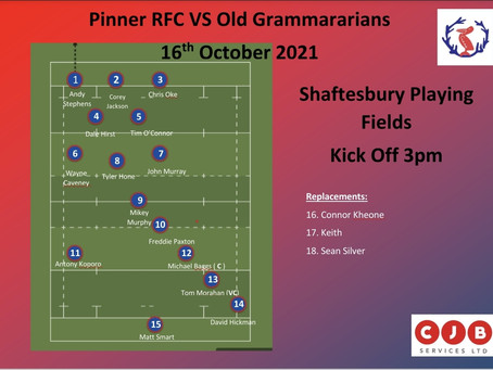 Team News for Tomorrow at Home