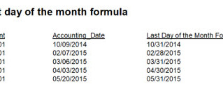 Easy formula for finding the last Day of the Month