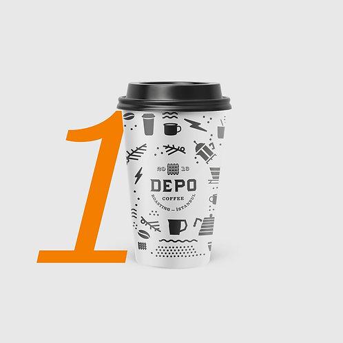 1 Bardak Kahve