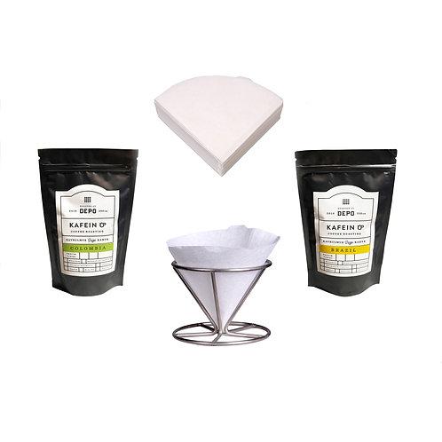 Dripmaker ile Kahve Demleme Paketi