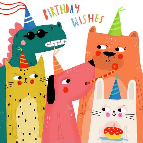 Doğum günü kartı